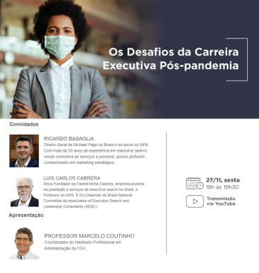 Os Desafios da Carreira Executiva Pós-pandemia